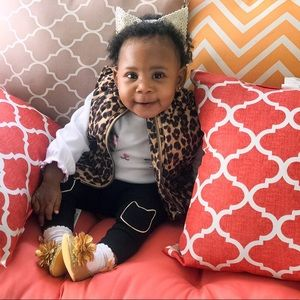 Old Navy Leopard Frost Free Vest for Baby